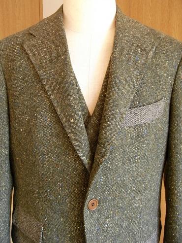 冬に~ツィードのジャケット&ウエストコート~フランネルのジレ&トラウザーズ 編_c0177259_2193990.jpg