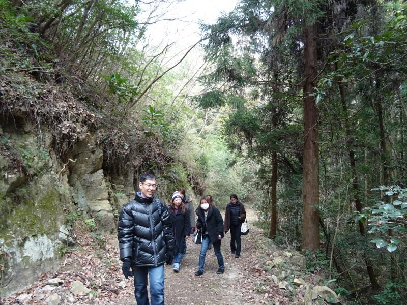 和歌山市立野崎西小学校PTA 幹事さんが下見に来られました・・・孝子の森  by  (TATE-misaki)_c0108460_21362256.jpg