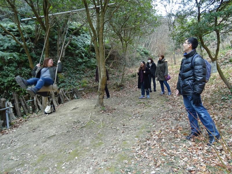 和歌山市立野崎西小学校PTA 幹事さんが下見に来られました・・・孝子の森  by  (TATE-misaki)_c0108460_21383878.jpg