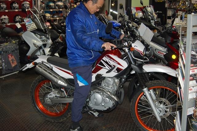 スタッフによるオフロードバイク・どれがオススメ?~足つき比較~_d0099181_1445185.jpg