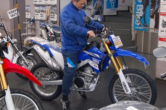 スタッフによるオフロードバイク・どれがオススメ?~足つき比較~_d0099181_1445268.jpg