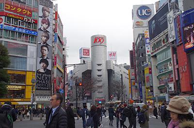 1月20日(金)今日の渋谷109前交差点_b0056983_14102623.jpg