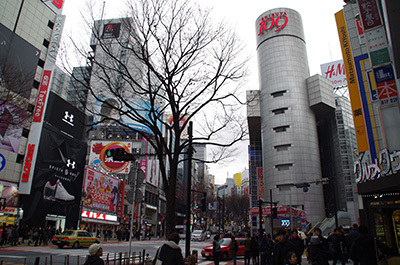 1月20日(金)今日の渋谷109前交差点_b0056983_14102682.jpg
