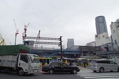 1月20日(金)今日の渋谷109前交差点_b0056983_14102788.jpg