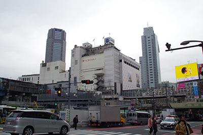 1月20日(金)今日の渋谷109前交差点_b0056983_14102807.jpg