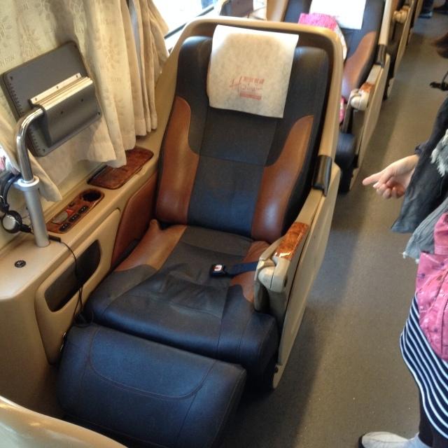 台湾の高速バスは素晴らしい~和欣白金臥艙(プラチナムクラス)で高雄へ。_a0334793_10525242.jpg