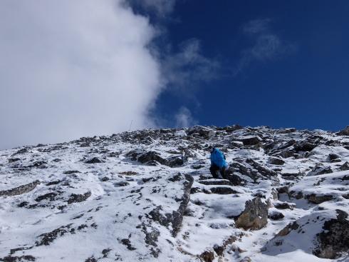 11日目: trekking day9 ディンポチェ(Nangkar Tshang)_a0207588_17103676.jpg