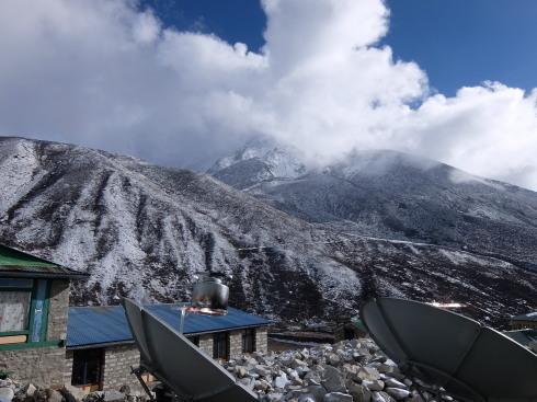 11日目: trekking day9 ディンポチェ(Nangkar Tshang)_a0207588_17150383.jpg