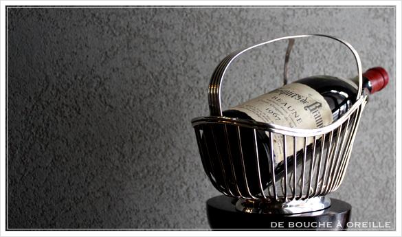 porte bouteille クリストフル製 アンティークのパニエ その2 ボトルバスケット_d0184921_1725871.jpg