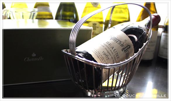 porte bouteille クリストフル製 アンティークのパニエ その2 ボトルバスケット_d0184921_1753291.jpg