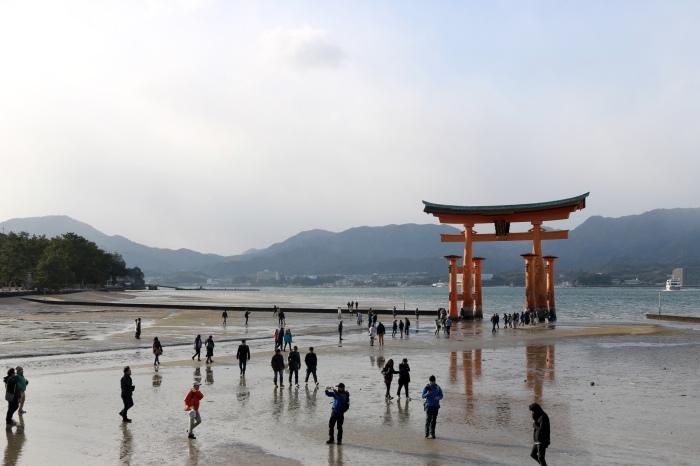 干潮の大鳥居 広島旅行 - 9 -_f0348831_15305986.jpg