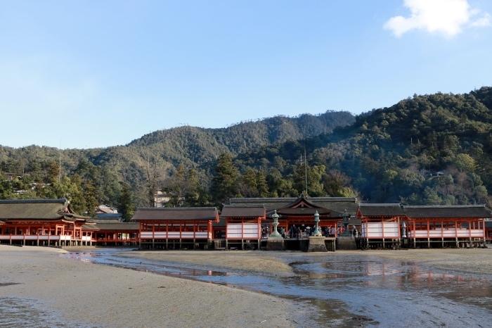 干潮の大鳥居 広島旅行 - 9 -_f0348831_15313673.jpg