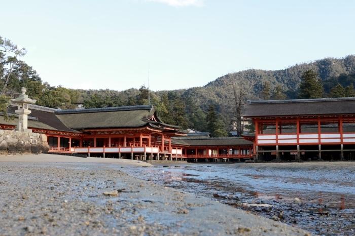 干潮の大鳥居 広島旅行 - 9 -_f0348831_15314237.jpg