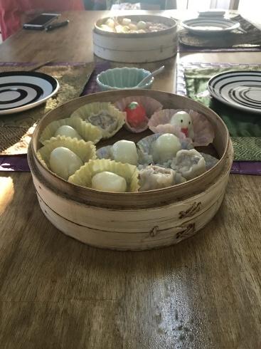ジャージャー麺、上海冷麺、ウズラシュウマイレッスン_a0175348_21173497.jpg