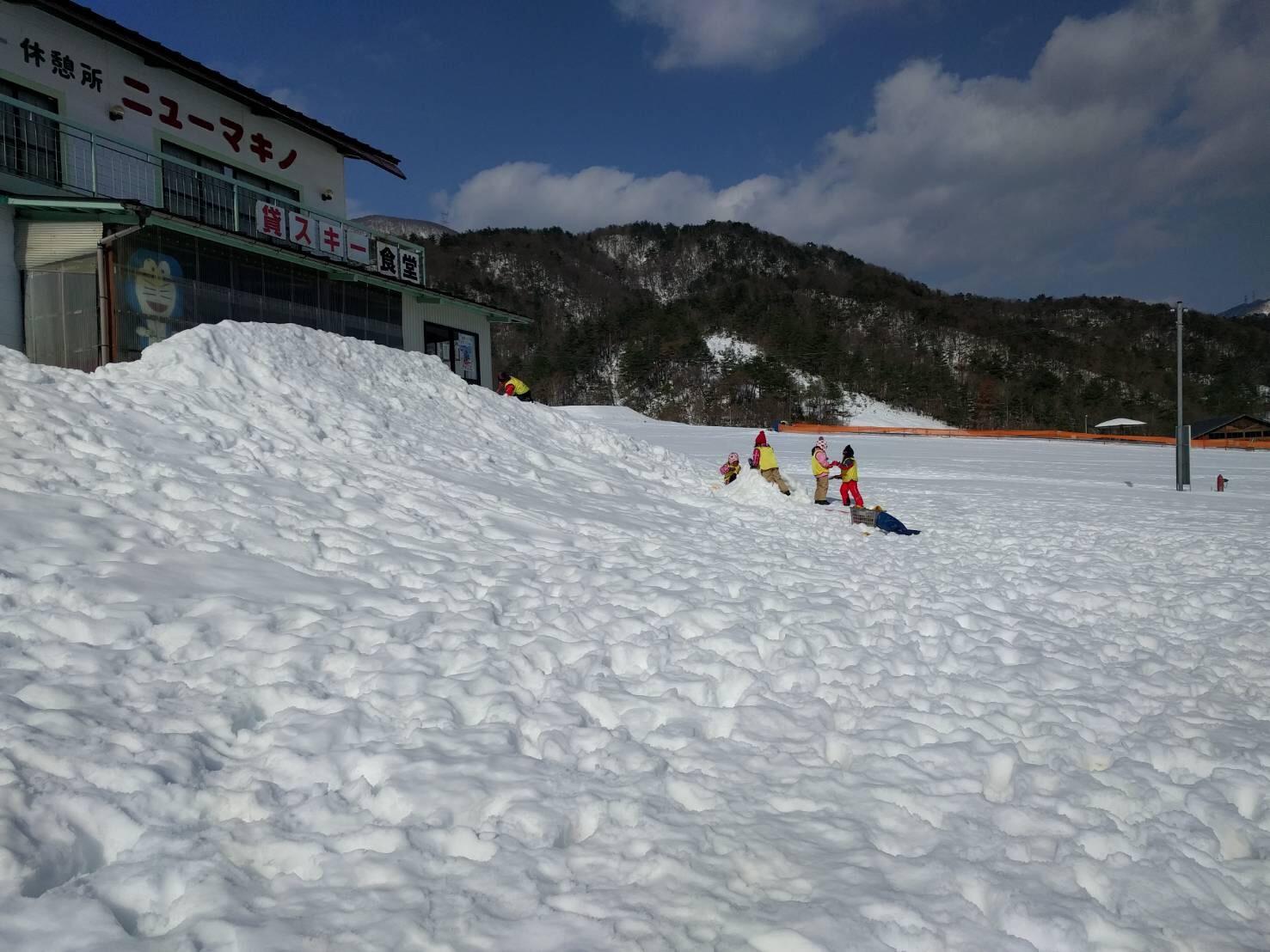 雪遊び行ってきました。_c0151262_21031348.jpg