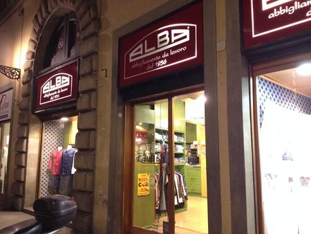 フィレンツェ中心街にあるコック服の専門店_a0136671_2325578.jpg