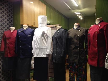 フィレンツェ中心街にあるコック服の専門店_a0136671_292989.jpg