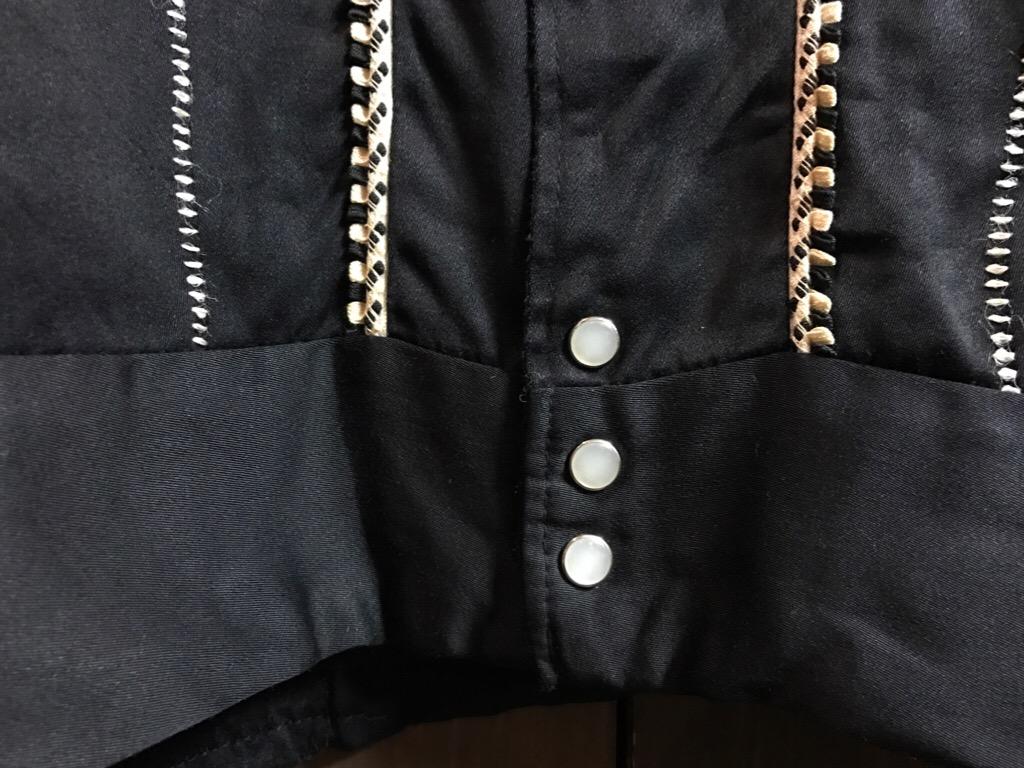 神戸店1/25(水)ヴィンテージ入荷!#2 50\'s HbarC Black Rayon Western Blouson!Mix Item!!!_c0078587_18575098.jpg