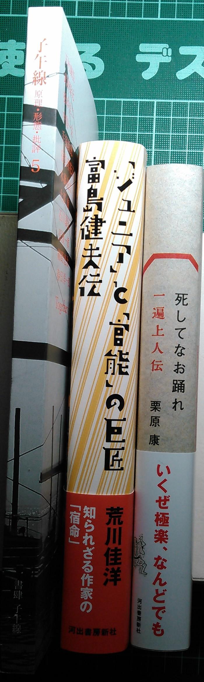 注目新刊:栗原康さんの一遍上人伝、ほか_a0018105_015358.jpg