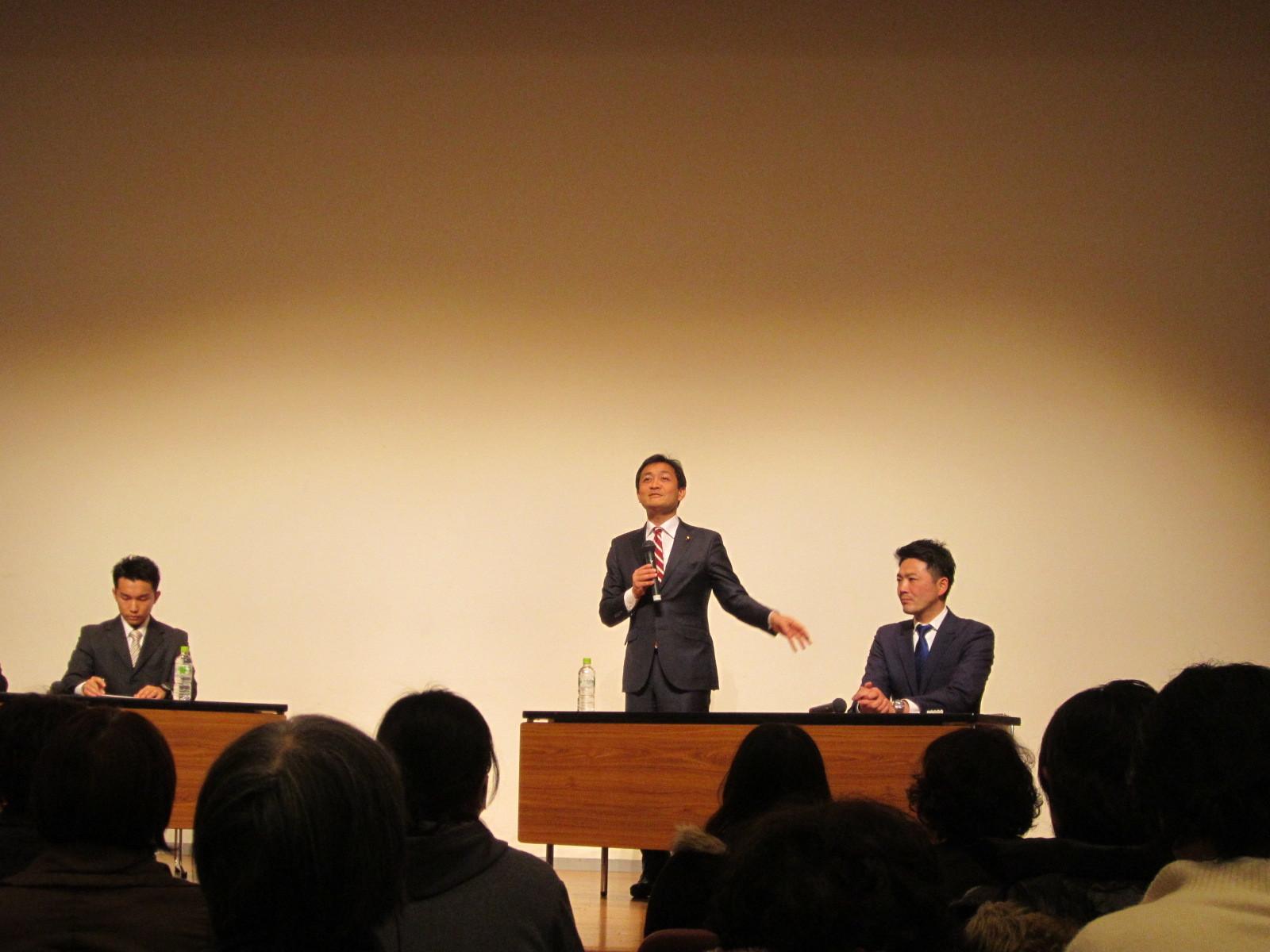 玉木雄一郎 & 関健一郎 講演会_c0189426_21212365.jpg