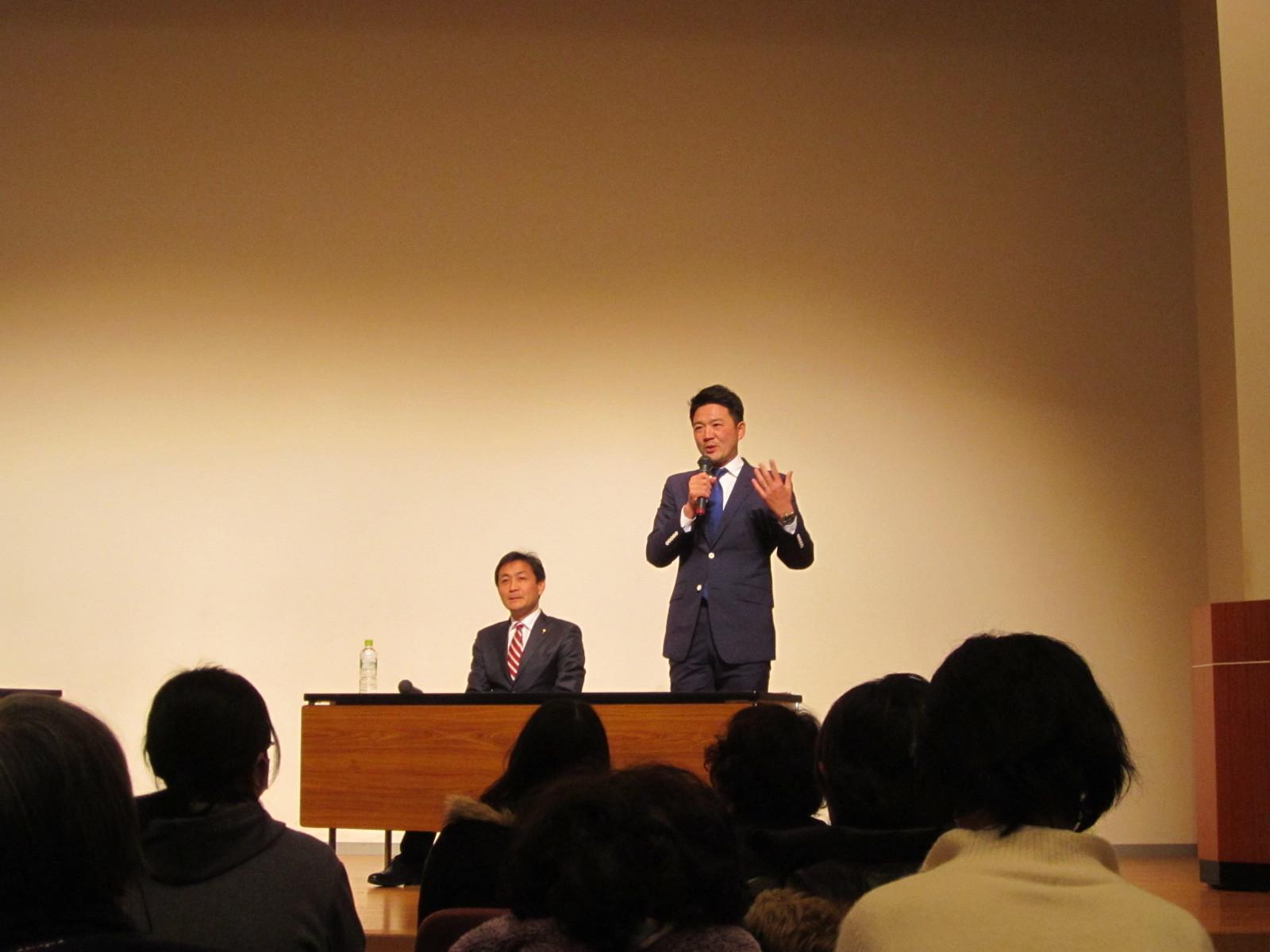 玉木雄一郎 & 関健一郎 講演会_c0189426_21213289.jpg