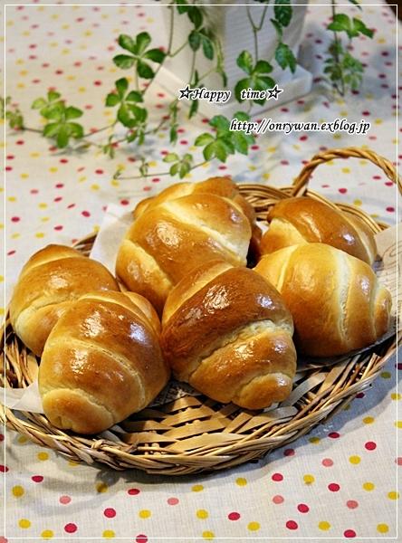 鮭の味噌漬け焼き弁当とバターロールパン♪_f0348032_18412238.jpg