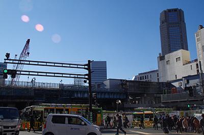 1月23日(月)今日の渋谷109前交差点_b0056983_15251149.jpg