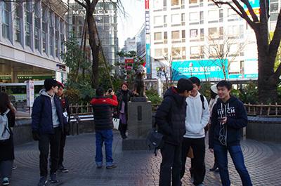 1月23日(月)今日の渋谷109前交差点_b0056983_15251303.jpg