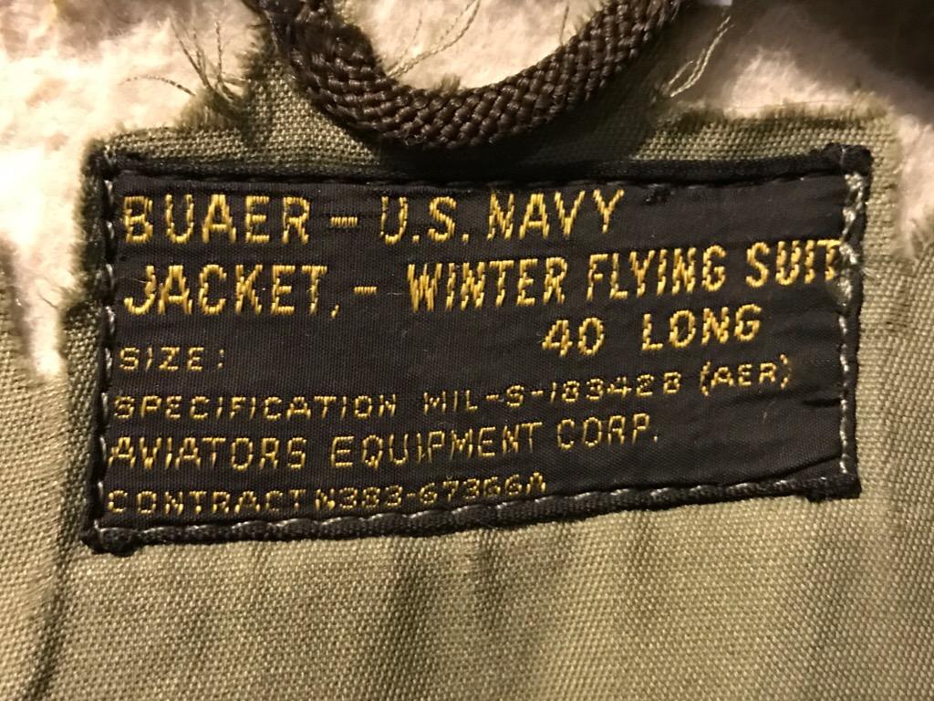 神戸店1/25(水)ヴィンテージ入荷!#6 50\'s US.Navy J-WFS(WEP)!40\'s M-445A Flight JKT !!!_c0078587_21391436.jpg