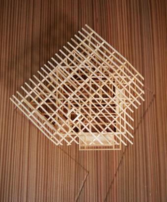 稲田堤の家の軸組模型の製作過程。_c0195909_1340084.jpg