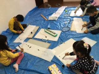 1月の出張教室から「竹ペンで描こう」_b0215321_22432939.jpg
