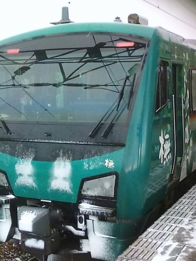 ROAD TO 北海道⑧リゾートしらかみの車内で(旅行部門)_d0057733_23400423.jpg