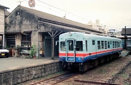 熊本電気鉄道 藤崎宮前駅旧駅舎_e0030537_00484734.jpg
