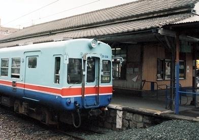 熊本電気鉄道 藤崎宮前駅旧駅舎_e0030537_00485984.jpg