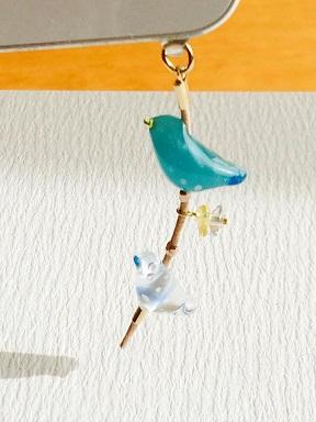 Tori.1ーターコイズブルーとくちバシが青い鳥_f0206741_14301990.jpg