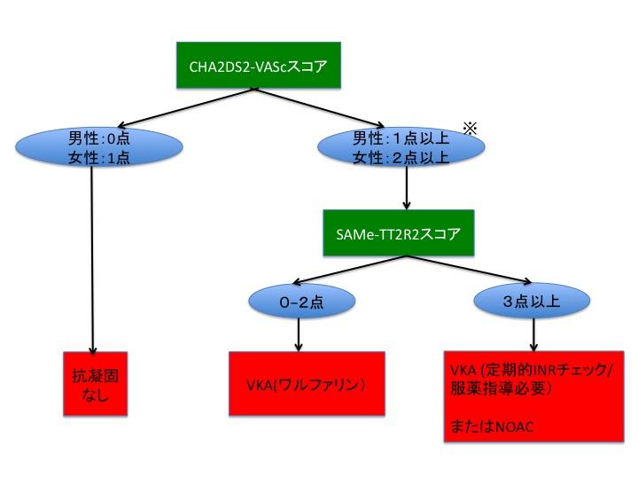 抗凝固薬の適応と使い分けのシンプルなアルゴリズム:ESC誌より_a0119856_21241830.jpg