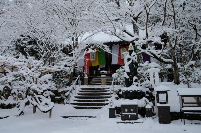京都  今熊野観音寺  1/15 雪積もったけど1時間半しか時間ないの巻_f0021869_22321932.jpg