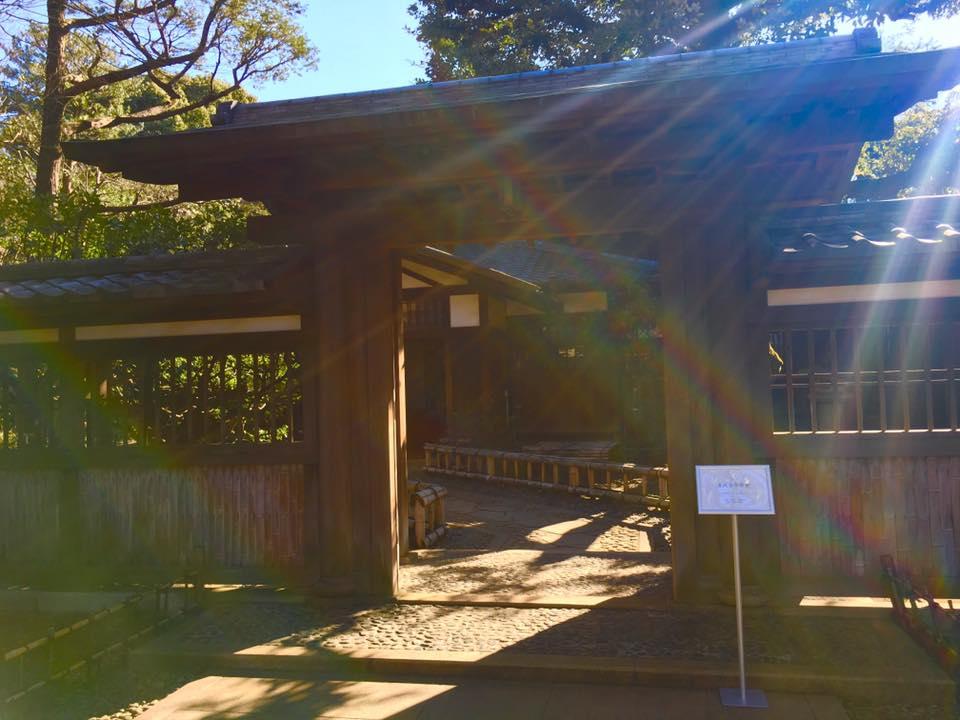 旧前田侯爵家 駒場本邸・和館での静謐なひと時_a0138976_10412317.jpg
