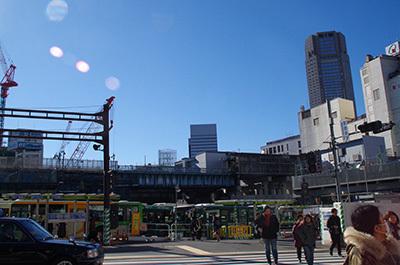 1月24日(火)今日の渋谷109前交差点_b0056983_14323772.jpg