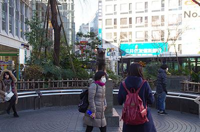 1月24日(火)今日の渋谷109前交差点_b0056983_14323886.jpg