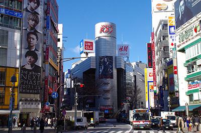 1月24日(火)今日の渋谷109前交差点_b0056983_14323892.jpg