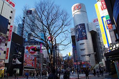 1月24日(火)今日の渋谷109前交差点_b0056983_14323905.jpg