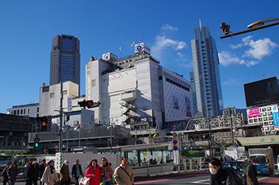 1月24日(火)今日の渋谷109前交差点_b0056983_14564388.jpg