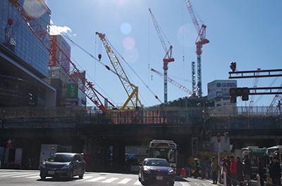 1月24日(火)今日の渋谷109前交差点_b0056983_14564389.jpg