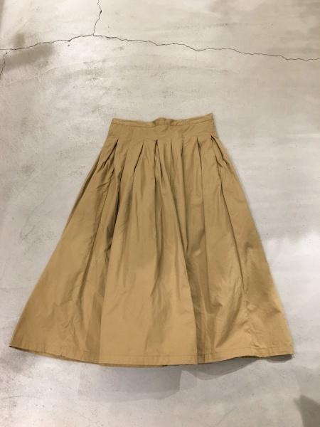GRANDMA MAMA DAUGHTER チノプリーツスカート_f0369188_00525307.jpg