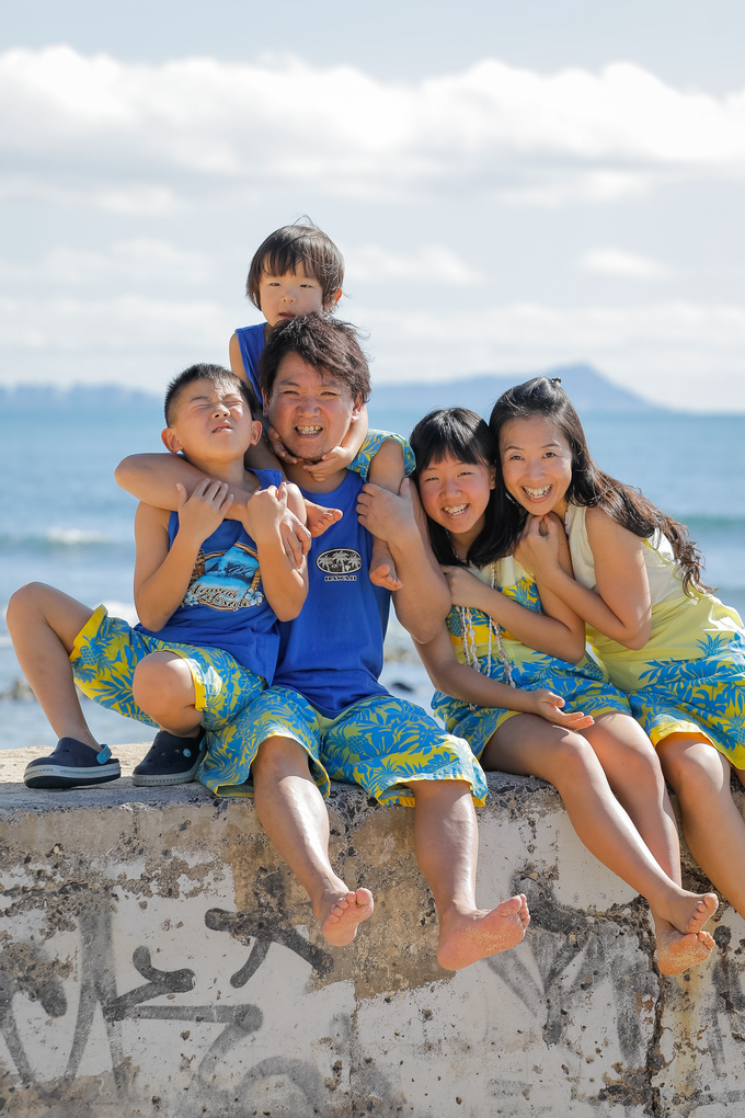 2017正月ハワイ~TRIP SNAPで家族写真撮影~_f0011498_16442735.jpg