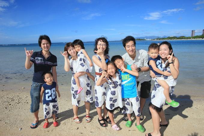 2017正月ハワイ~TRIP SNAPで家族写真撮影~_f0011498_16541236.jpg