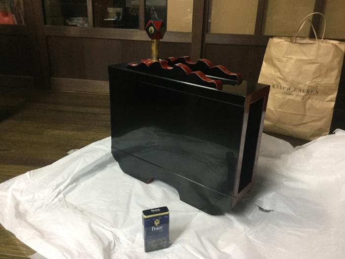 酒樽の修繕_e0130334_17441683.jpg