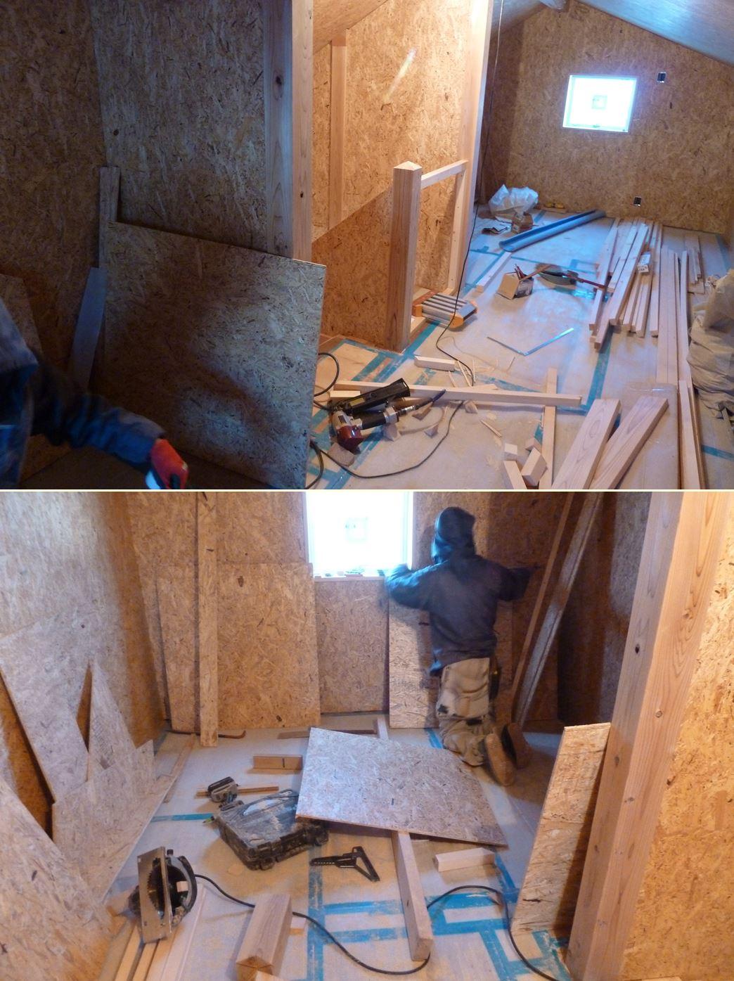 伊勢原の家☆ガルバの外壁ができていました!_c0152341_822079.jpg