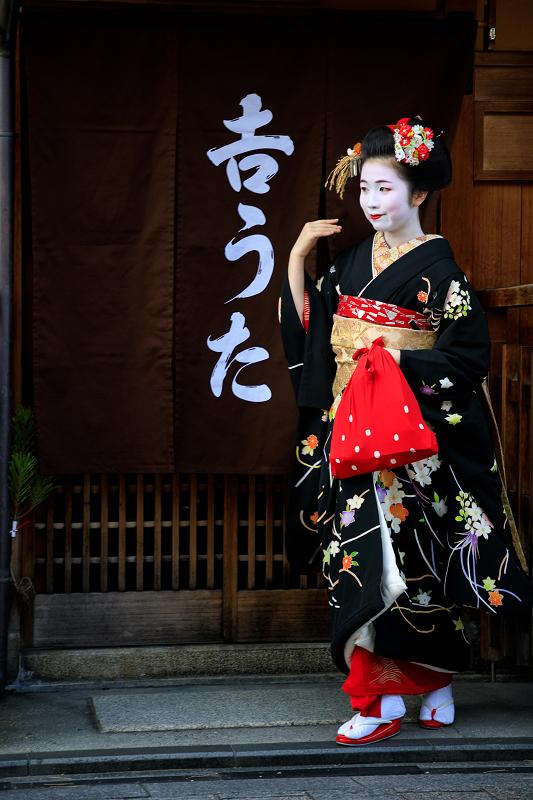 新年の挨拶回り(祇園甲部)(写真部門)_f0155048_2392760.jpg